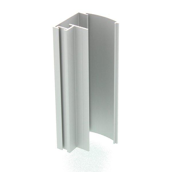 Aluminium hoekprofiel voor schuifdeurkast op maat
