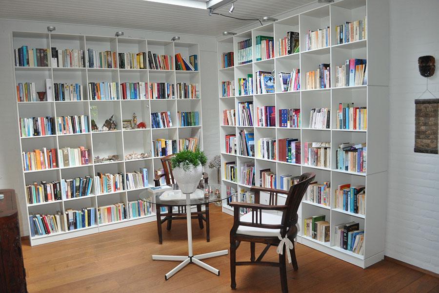Bibliotheek voorbeeld van Verruim