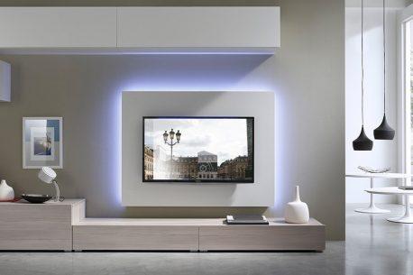 TV-paneel H96 achterwand voor een flatscreen